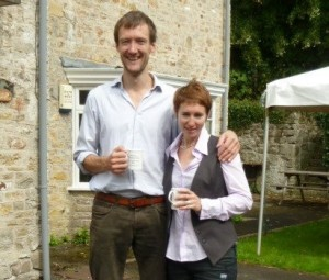 Jackdaws Tutors William Carslake and Jessica Walker