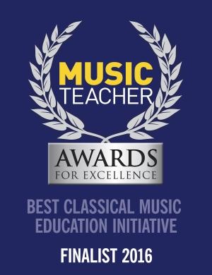 Music Teacher Awards for Excellence badge
