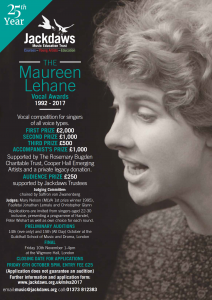 The 25th Maureen Lehane Vocal Awards