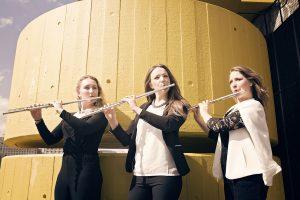 Tempest Flute Trio; Holly Melia, Hannah Grayson, Helen Wilson