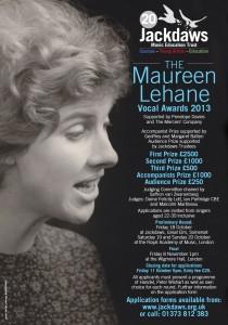 Maureen Lehane Vocal Awards