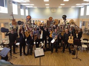 A great start to the Year of Guitar Workshops