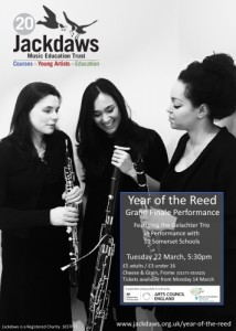 Jackdaws Year of the Reed with the Gelachter Trio