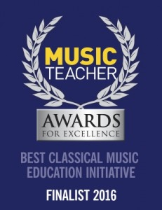 Music Teacher Awards for Excellence badge