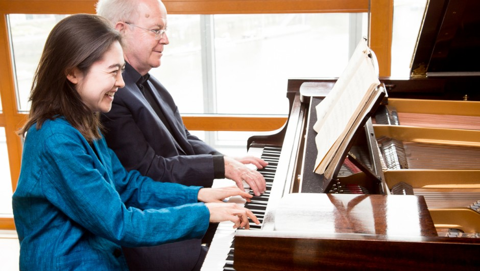 Interview with the Jacobson-Brown Piano Duo