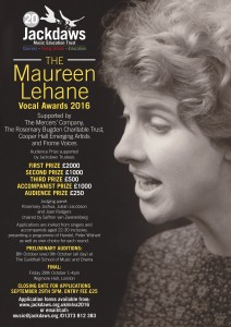 Maureen Lehane Vocal Awards 2016