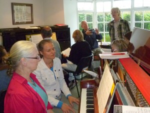Pianos for All Ensemble Course at Jackdaws with Caecilia Andriessen