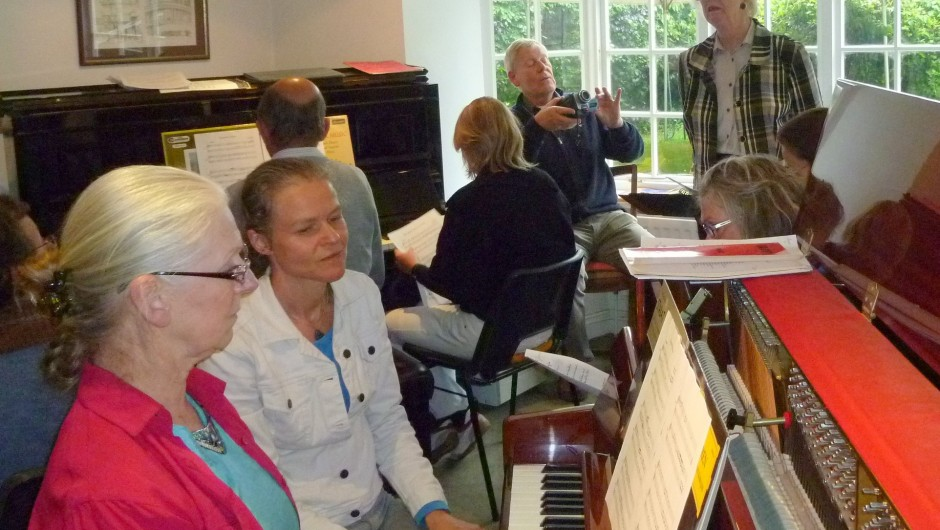 Dutch Piano Pedagogue Caecilia Andriessen returns to the UK for the final time