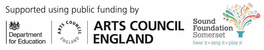 Arts Council England and Sound Foundation Somerset