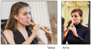 Tabea Debus and Anna Stegmann lead Jackdaws Year of the Recorder