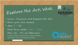 Explore the Arts Week