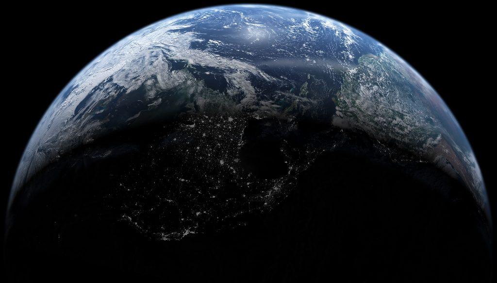 Earth. Photo by NASA.