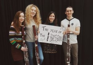 The Genovia Bassoon Quartet